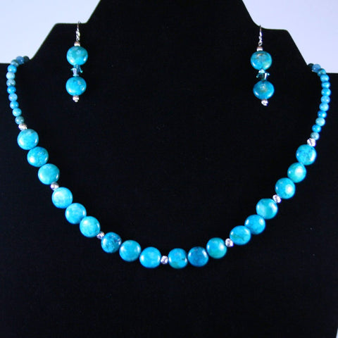 Blue Bounty Necklace Set