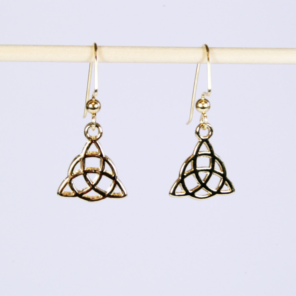 knot marquis celtic earrings marquise shad