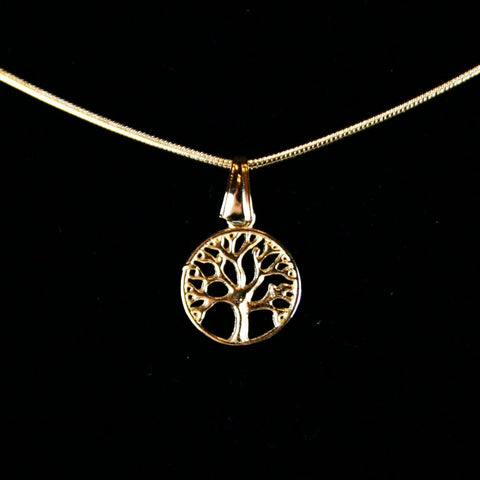 Tree of Life Gold Pendant