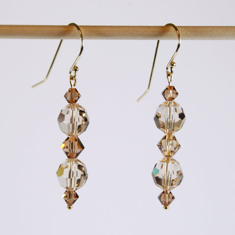 Swarovski Crystal Silky Road Earrings