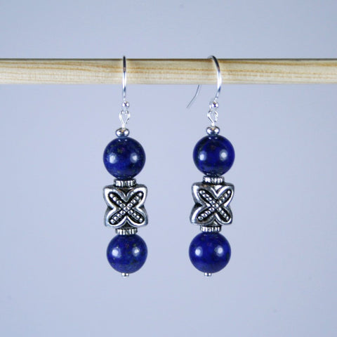 Xactly Lapis 8mm Earrings