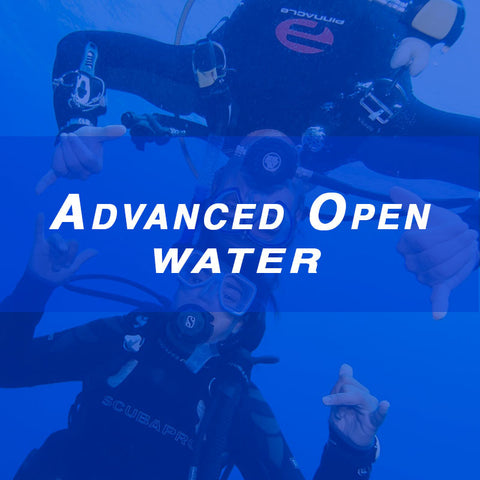 Advanced Open Water - October 3-4, 2015