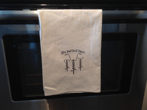 Life Behind Bars Flour Sack Towel