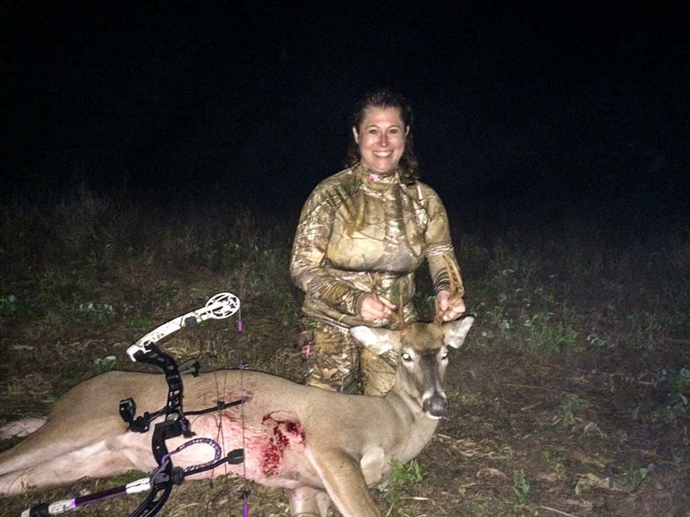 Slick Trick Broadheads - Kerrianne Mesiti Trophy Photo