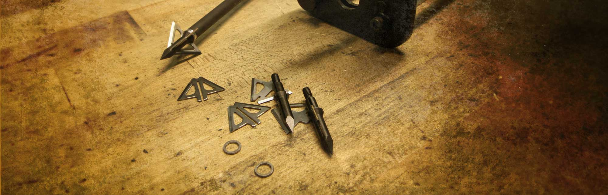 Slick Trick Broadheads - blades locking system and replacement