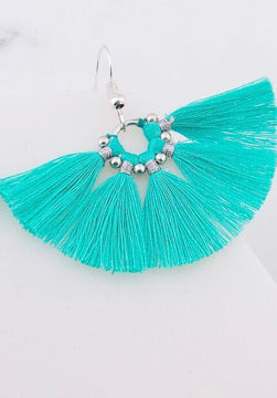 Iskia- mini tassel earrings * more colours
