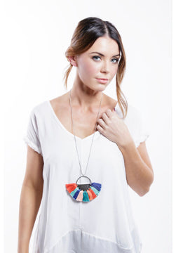 Iskia- Rainbow summer Necklace