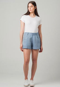 Ella & Sunday Rome Linen Short