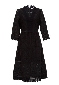 Binny- The Sugar Loaf Dress Black