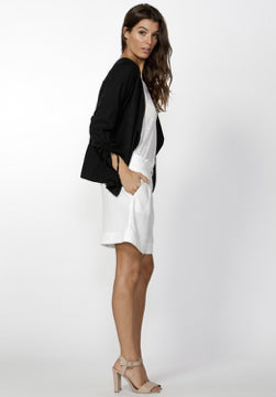 Fate + Becker- Zanita Blazer- Black