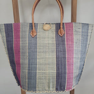Onigo Majunda Striped Basket