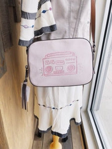 Coach x1941 Pink Boombox Keith Camera Bag