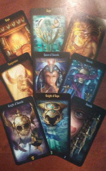 Changing Paths - 3 - Legacy of the Divine Tarot | STAR