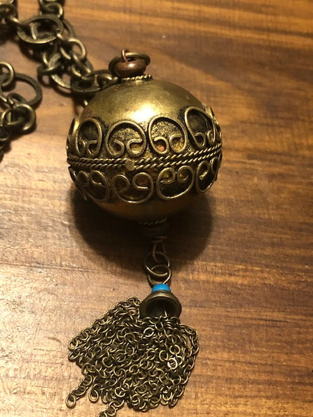 Vintage Necklace;  Castle of Djinn and a Dozen Djinn of Your Own