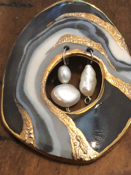Three Beautiful Orphean Pearls