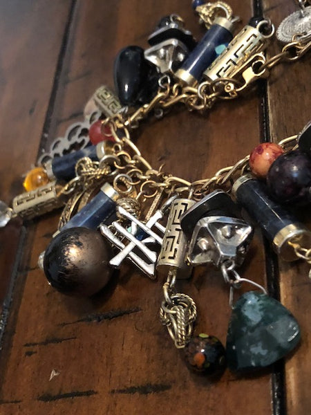 Youkai Blood Ritual Charm Bracelet-- The More the Merrier
