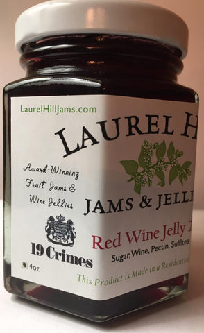 19 Crimes Red Wine Jelly