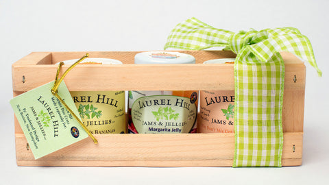 Laurel Hill Spirited Jelly Gift Sampler