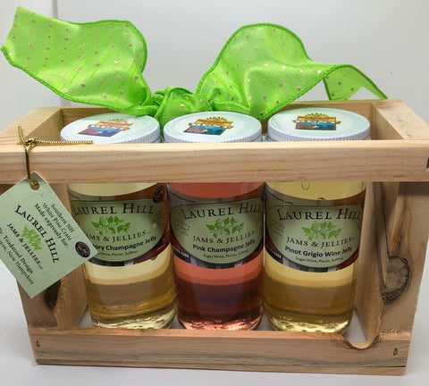 Romantic Wine Jelly Gift Set