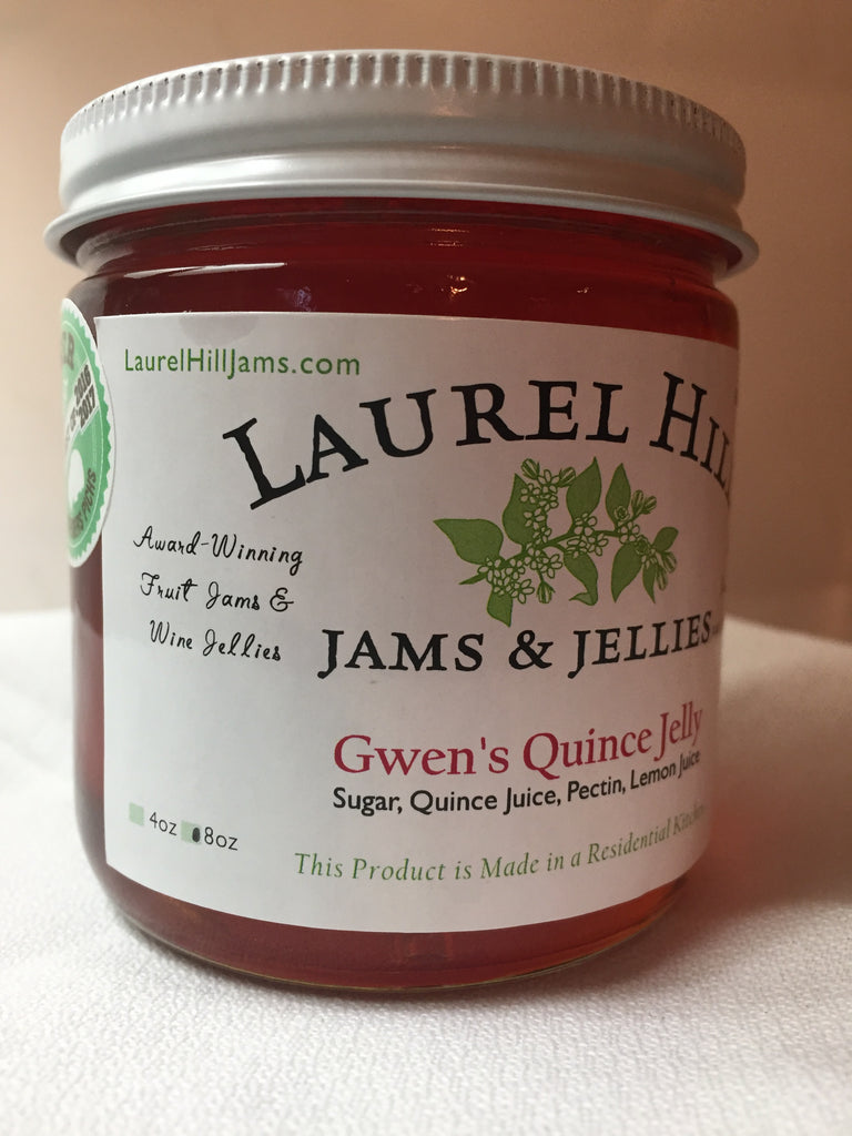 NEW! Gwen's Quince Jelly