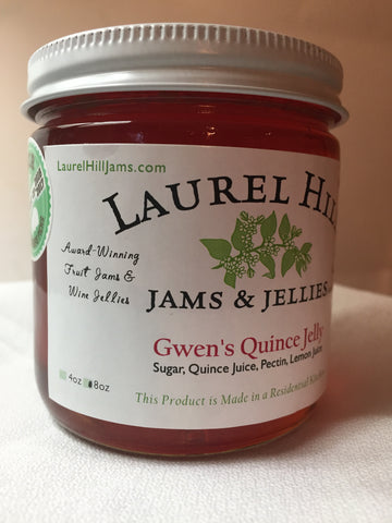 Gwen's Quince Jelly