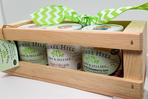 Laurel Hill Crate Trio of Fruit Jams & Jellies