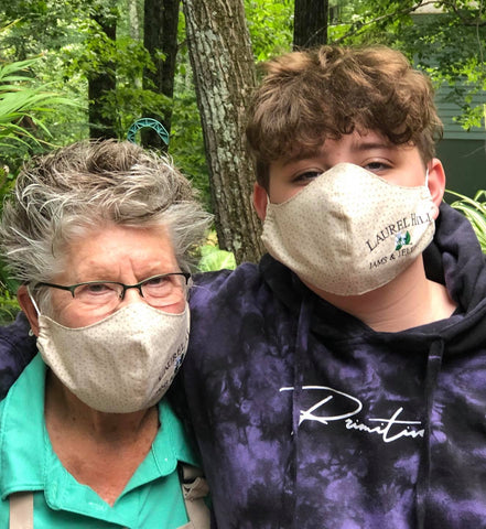 NEW! Face Masks with Laurel Hill Logo