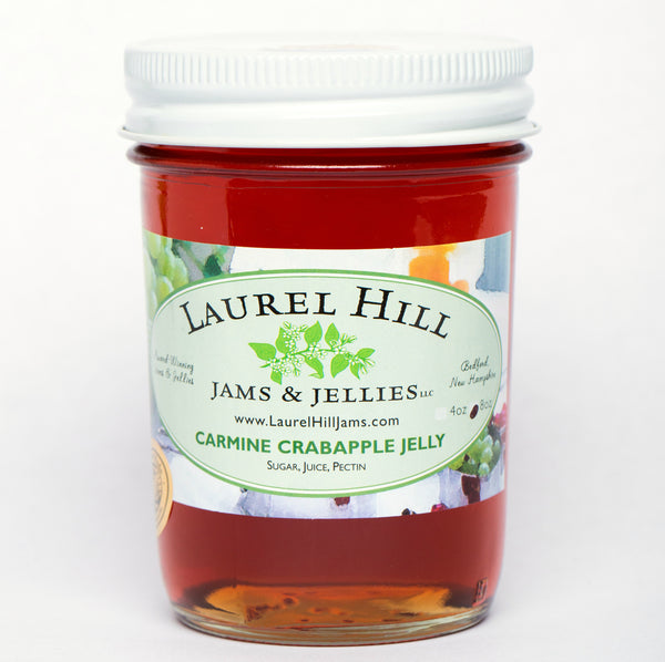 Carmine Crabapple Jelly