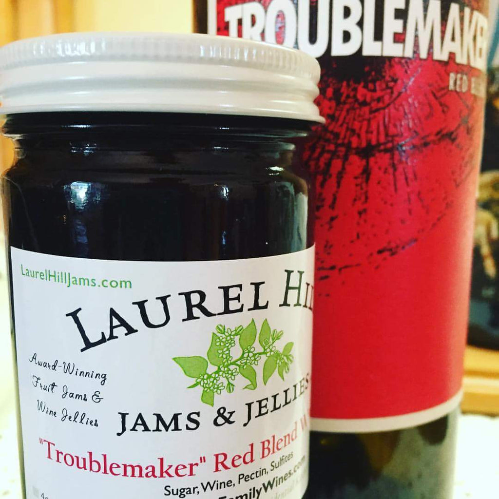 """Troublemaker"" Red Blend Wine Jelly"