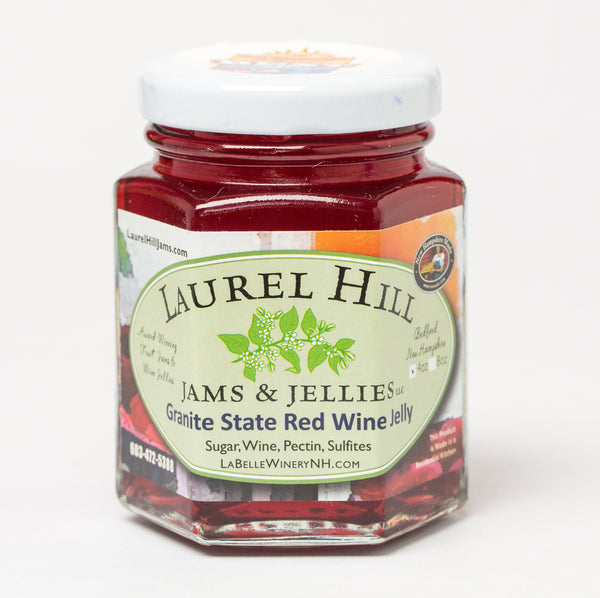 Granite State Red Wine Jelly