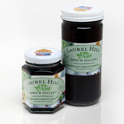 Magnificent Merlot Wine Jelly