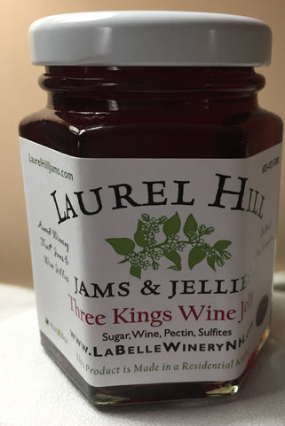 Three Kings Wine Jelly