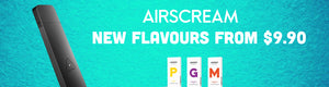 Airscream Flavours Crafty Eliquids nz