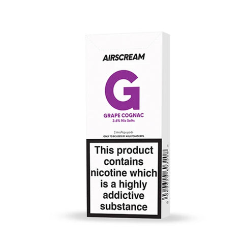 Airscream Cartridges - Grape Cognac