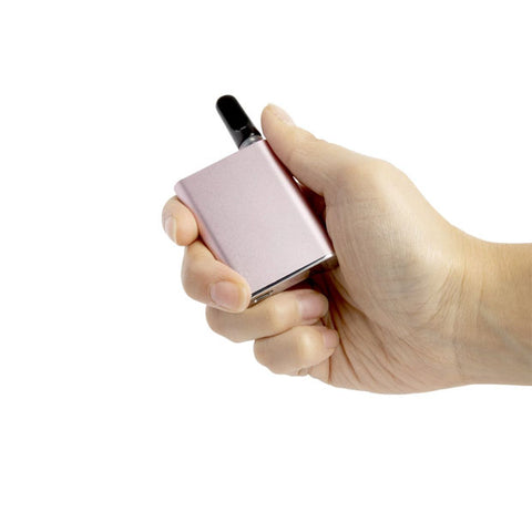 Pink CCell Palm in hand