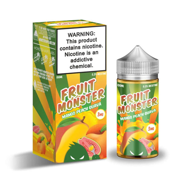 Fruit Monster Mango Peach Guava nz