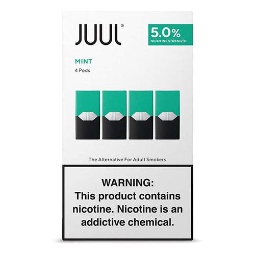 Cheap Juul replacement pods in cool mint flavour