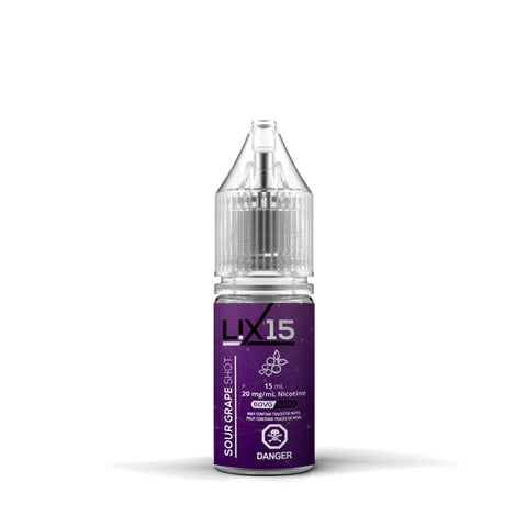 L!X15 Nic Salt - Grape