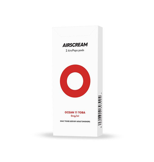 Airscream Oceans 11 Tobacco pre-filled pods