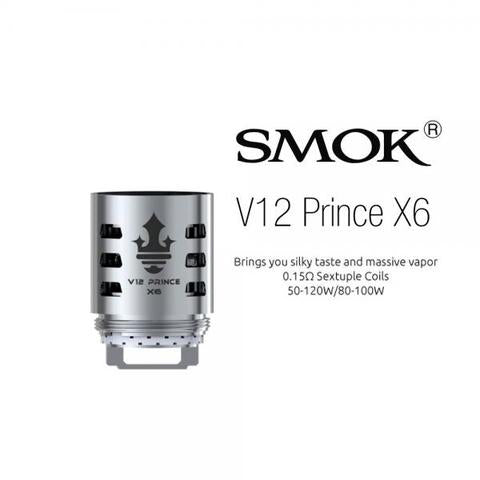 Smok v12 Prince coils NZ Crafty