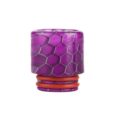 Resin drip tip cobra purple vape nz