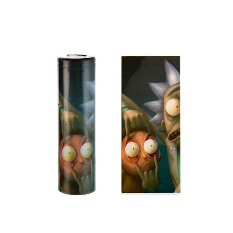 18650 Battery wrap rick and morty nz