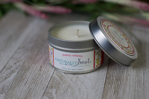 Simply Spring Soy Candle