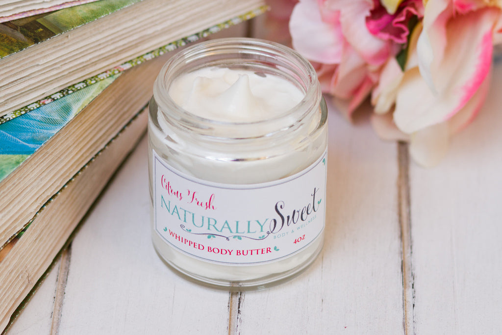 Citrus Fresh Whipped Body Butter