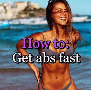 How To Get Abs Fast For Women In Just 30 Days!