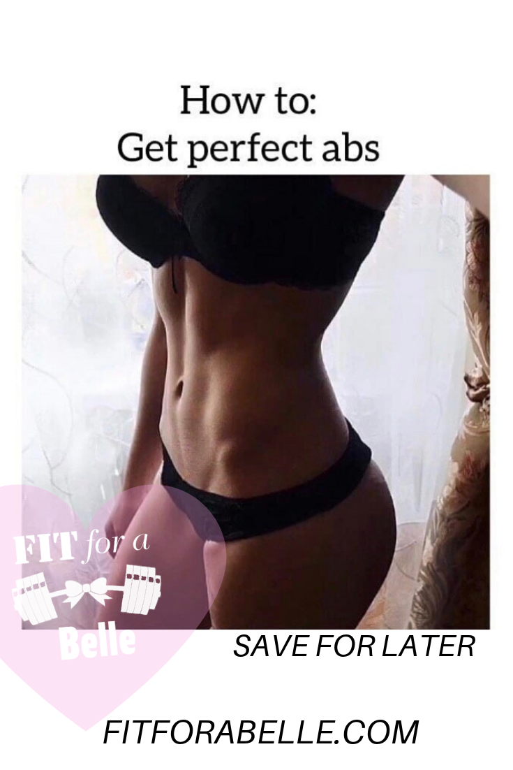 How to get 6 pack abs fast for women in just 30 days