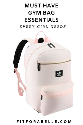 Must have gym bag essentials checklist  every girl needs to know