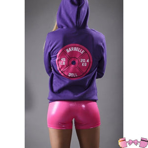 Barbelle Doll Zip Up - Fit For A Belle