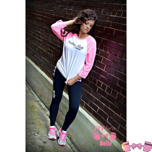 Southern Belle In Training Baseball Tee - Fit For A Belle