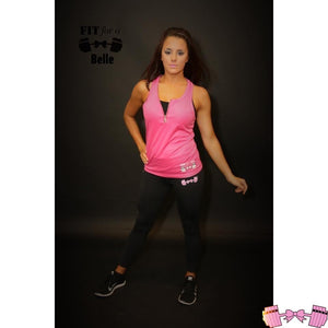 FFAB Pink Sleeveless Hoodie - Fit For A Belle